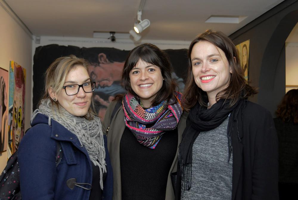 Isabella Nardini, Livia Araujo e Senta Slingerland (2)