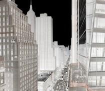 AL NY Sixth Avenue South - 198X123cm