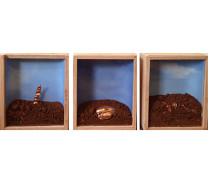 Caixa Objeto , Cama de Terra