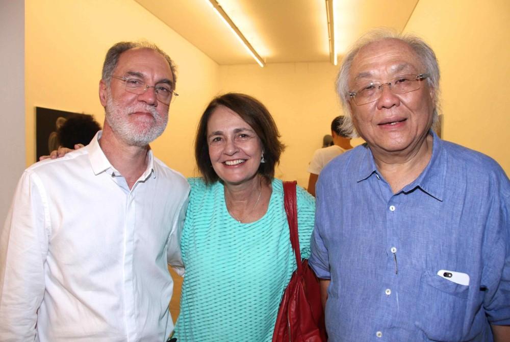 Angelo Venosa, Marcy Junqueira e Ricardo Ohtake