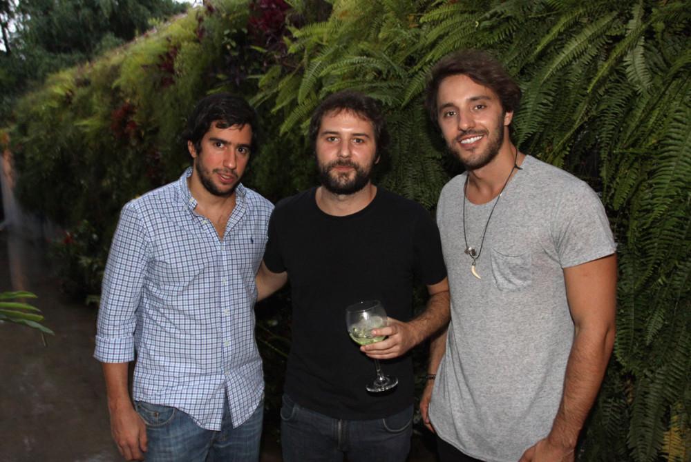 Thiago Sartori Eduardo Casanova e João Fenerich 2