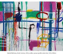 Gabriel Nehemy sem titulo 436- 120 x 200 cm