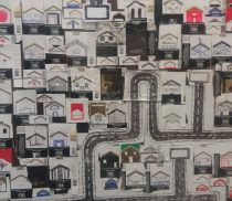 Marina Hachem Smoke Town 90 x 170 cm