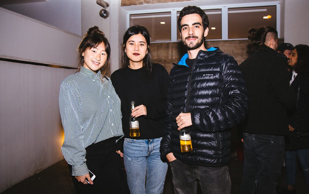 Victoria Chung, Larissa Oliveira e Matheus Rocca