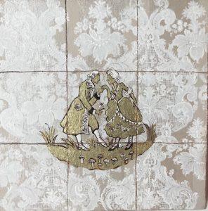 Iuri Sarmento - tela 38 x 38 cm