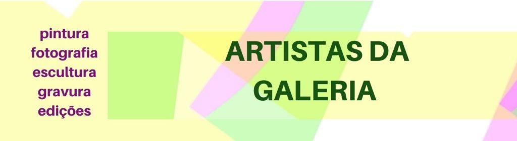 artistas na galeria